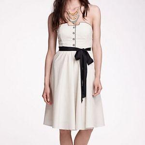 Girls From Savoy Novella Strapless Flare Dress